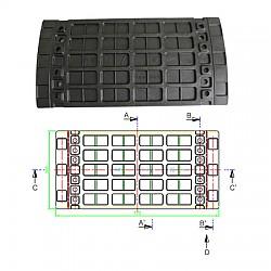 재활용 플라스틱리일 전선 보호판(Recycling plastic cable Protection cover)
